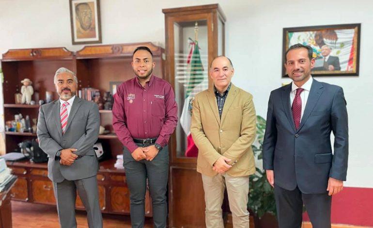Gabino Morales se reúne con alcaldes electos de SLP y Soledad