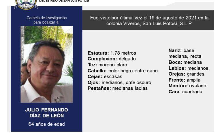 Asesinan al empresario Julio Fernando Díaz de León