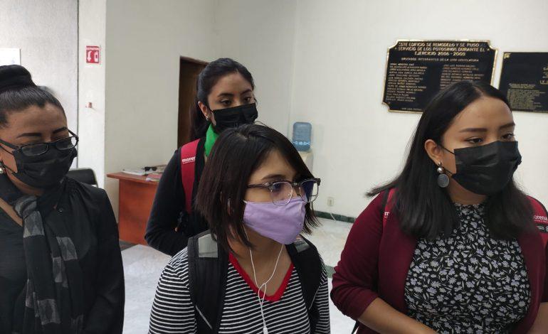 Feministas de Morena exhortan al Congreso a despenalizar el aborto en SLP