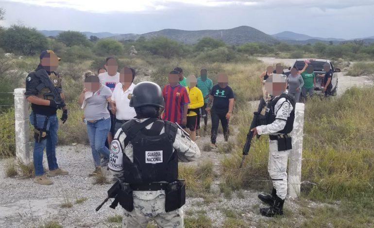 Localizan a 22 extranjeros privados de la libertad en Matehuala