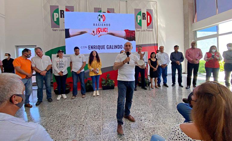 Centinela: El PRI nombra a Enrique Galindo primer priista del estado